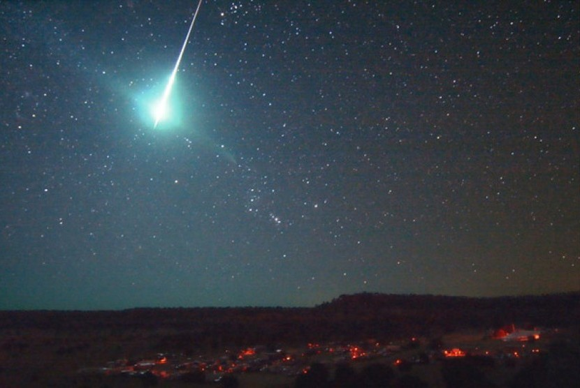 Puncak Hujan Meteor Orionid Diprediksi pada 22 Oktober