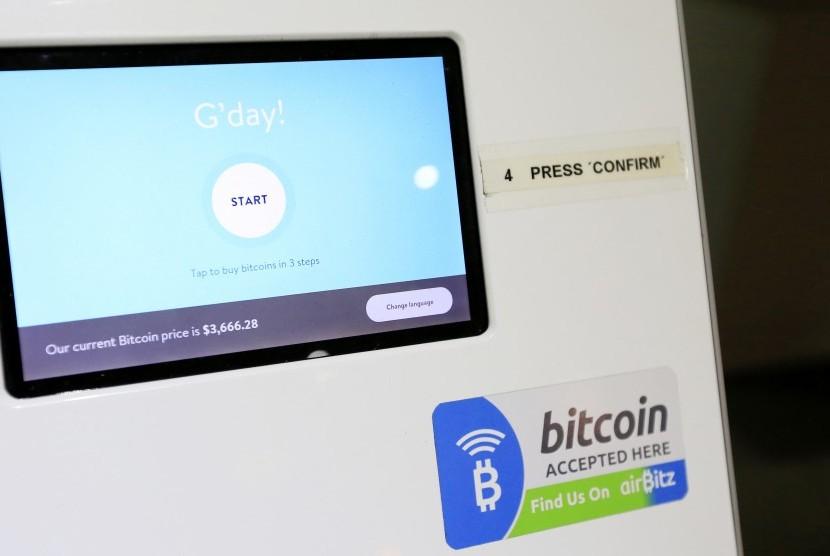 ATM Bitcoin (ilustrasi)