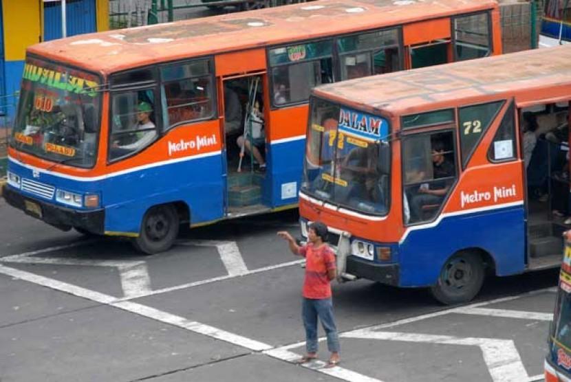 Metromini (ilustrasi)