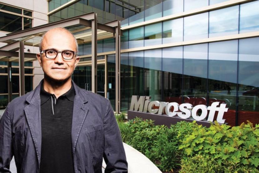 Microsoft Jadi Perusahaan Teknologi Terkuat di Dunia