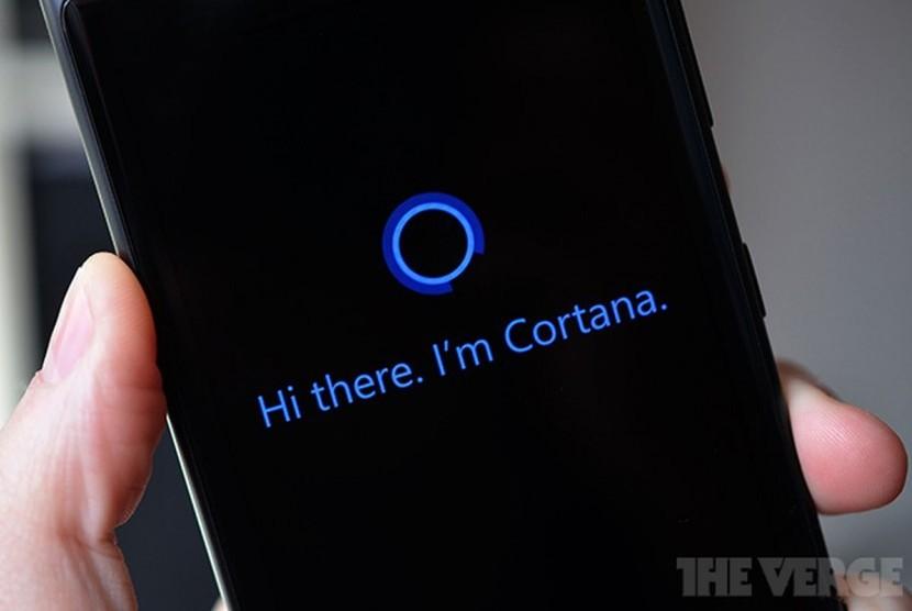 Microsoft Cortana. Ilustrasi