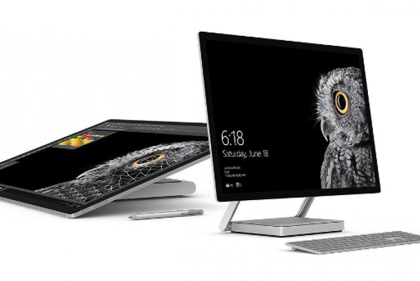 Microsoft Surface Studio, diklaim PC tertipis di dunia.