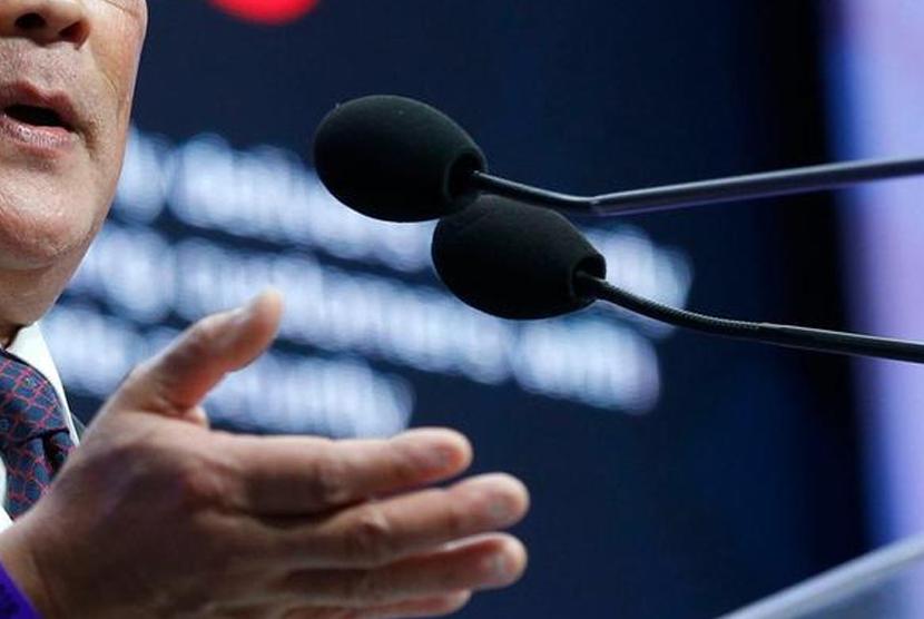Mikrofon. Ilustrasi