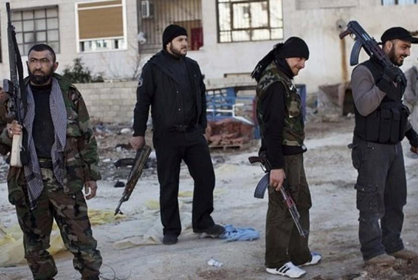 Militan ISIS Suriah (Ilustrasi)