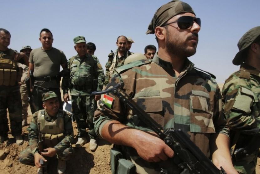 Militan Kurdi yang terus berupaya melawan militer Turki.