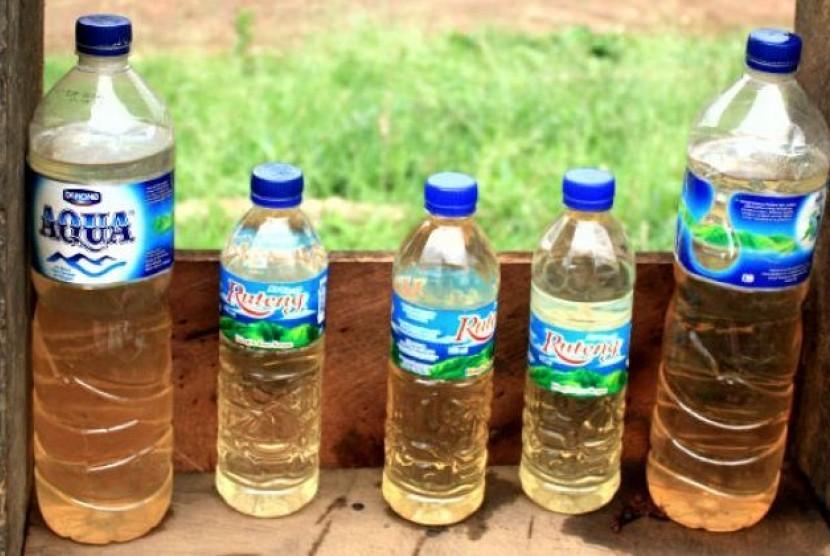 Miras jenis sopi yang banyak beredar di Merauke, Papua.