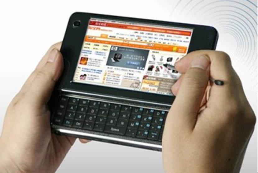 Mobile internet. Ilustrasi