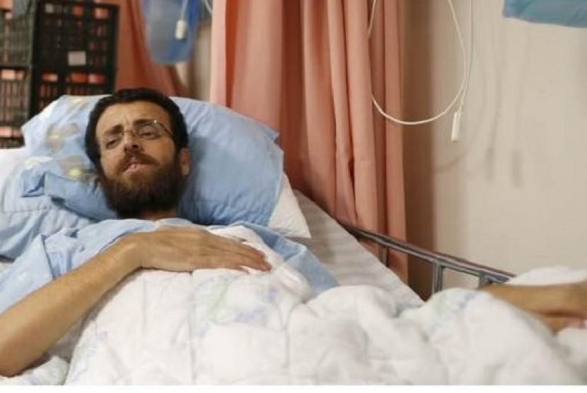 Israel Bebaskan Jurnalis Palestina yang Mogok Makan