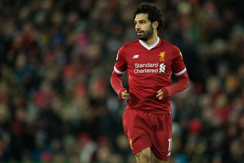 Mane dan Salah Bantu Liverpool Amankan Tiga Angka