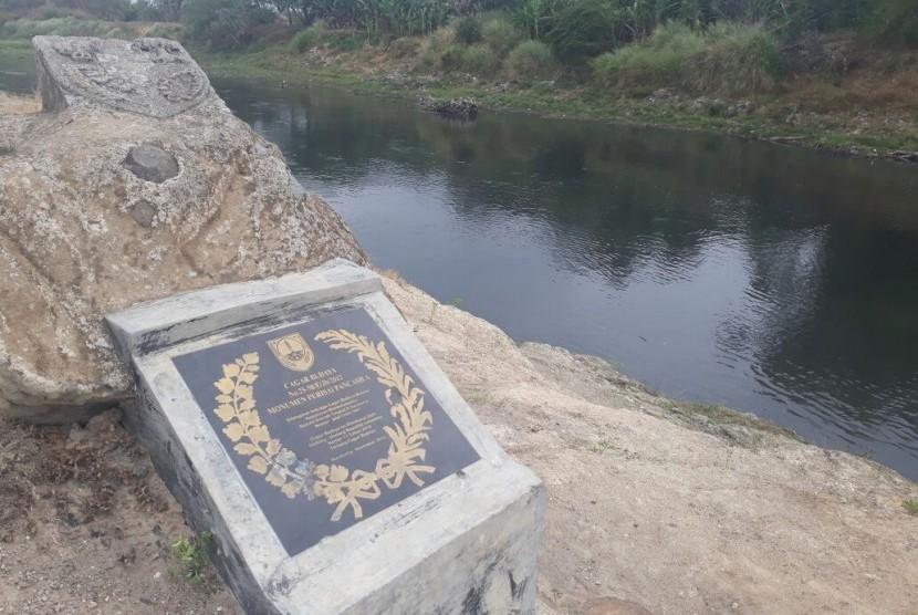 Monumen Perisai Pancasila yang menjadi peringatan peristiwa Kedung Kopi pada 22 Oktober 1965.