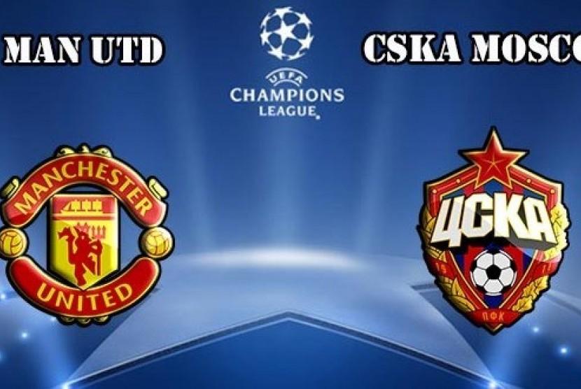 MU Juara Grup A Liga Champions Usai Bekuk CSKA Moscow