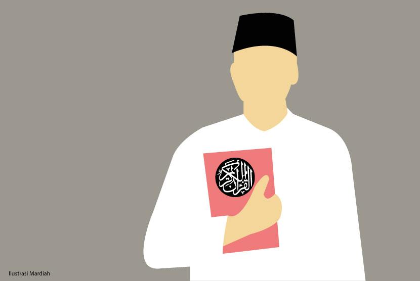 Indra Permana Terbiasa Sebelum Bekerja Baca Bismillah