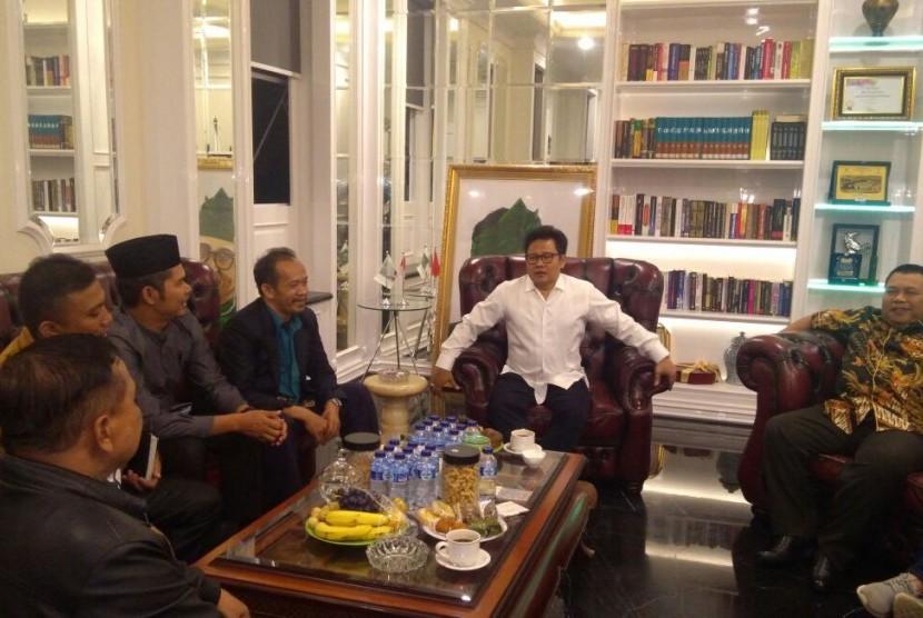 Muhaimin Iskandar Minta Presiden Jokowi Tak Tandatangani FCT