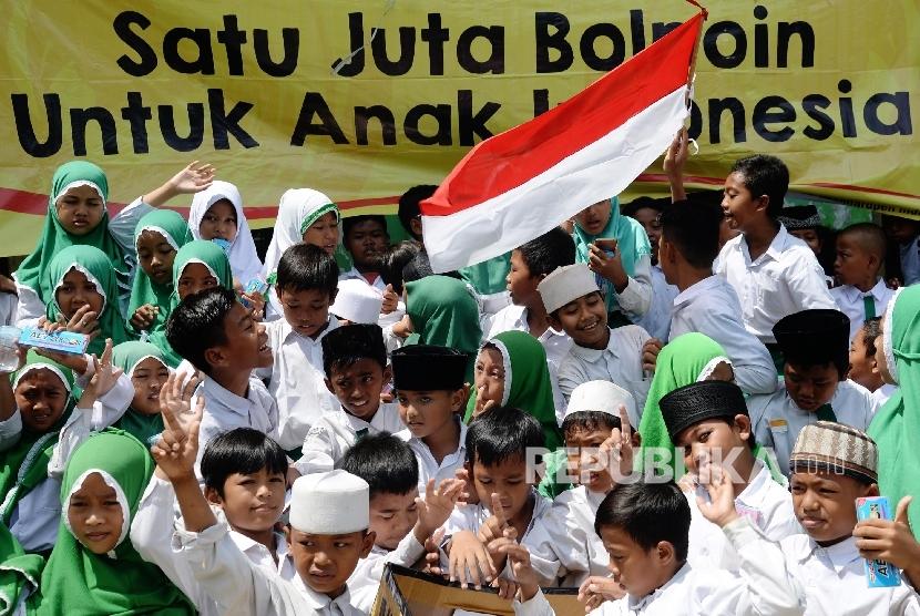 Murid-murid Madrasah Nurul Bahri (Ilustrasi)