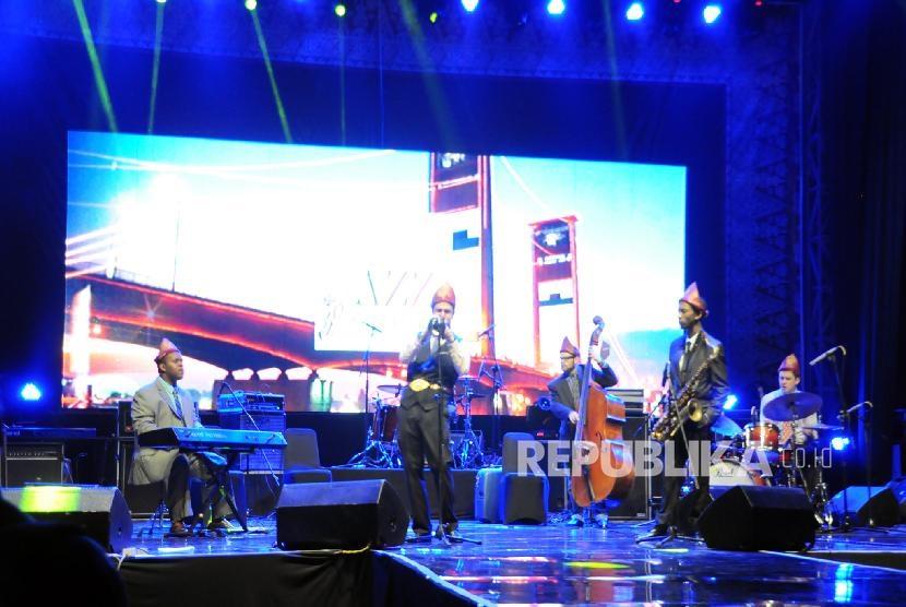 'Musi Jazz Sriwijaya' Satukan Musisi Indonesia-Belanda