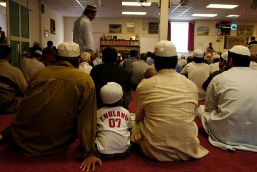 Muslim di Inggris (ilustrasi)