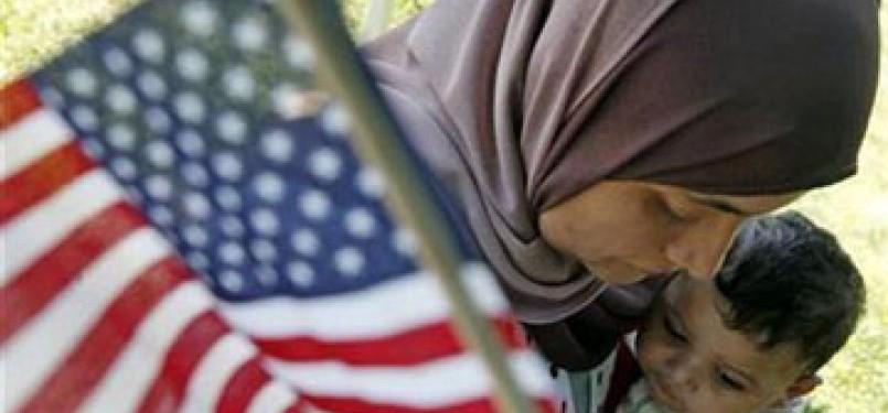 Muslimah Amerika (Ilustrasi)