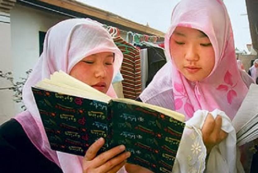 Muslimah Cina (Ilustrasi)