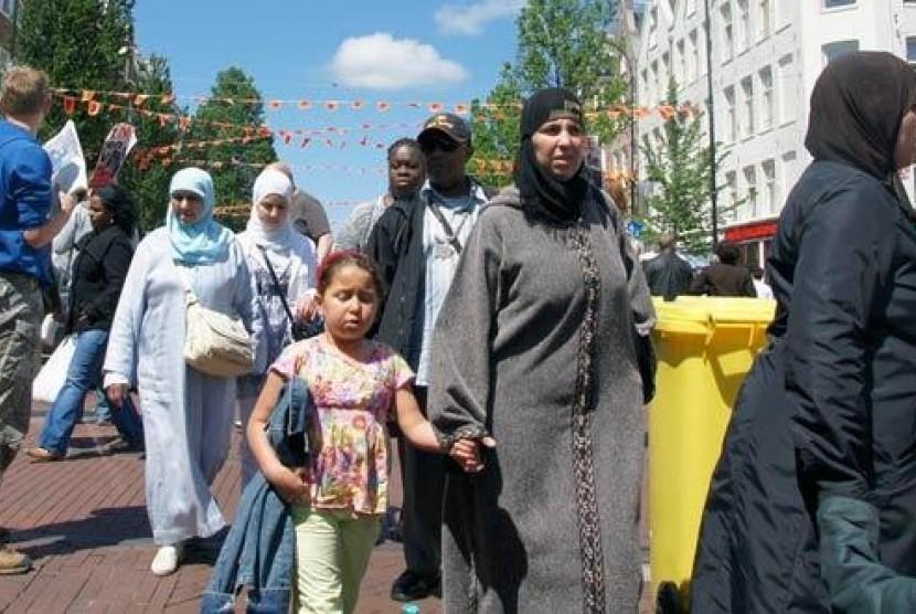 Muslimah di Belanda.