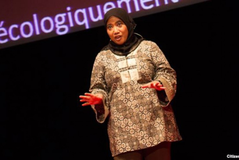 Nana Firman, aktivis lingkungan asal Indonesia