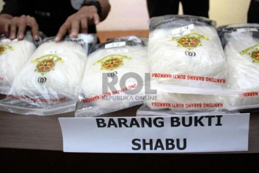 Narkoba jenis sabu-sabu (ilustrasi)