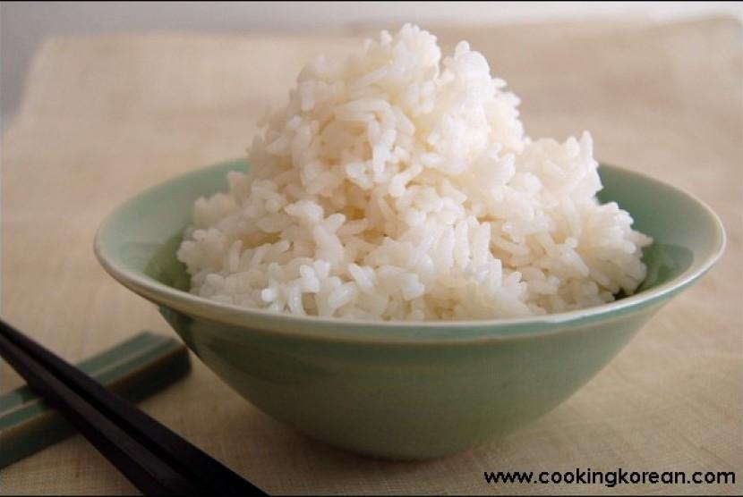 Nasi putih/ilustrasi