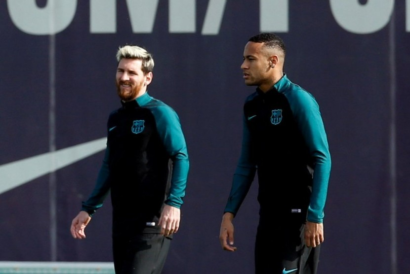 Jelang Duel PSG vs Barcelona, Maxwell Sanjung Neymar dan Messi