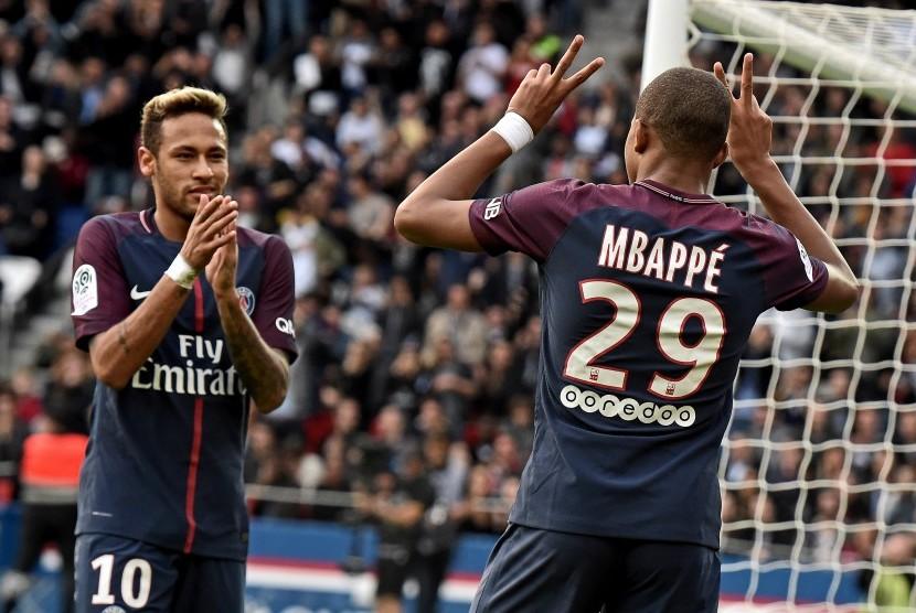 Tanpa Neymar, PSG Andalkan Mbappe Taklukkan Lille