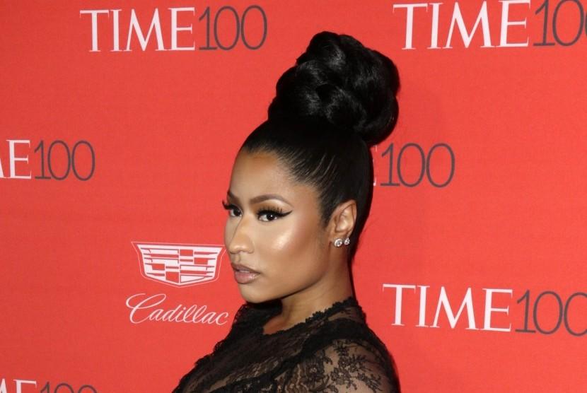 Nicki Minaj Bantah Rapper Wanita Lain Biasa Saja