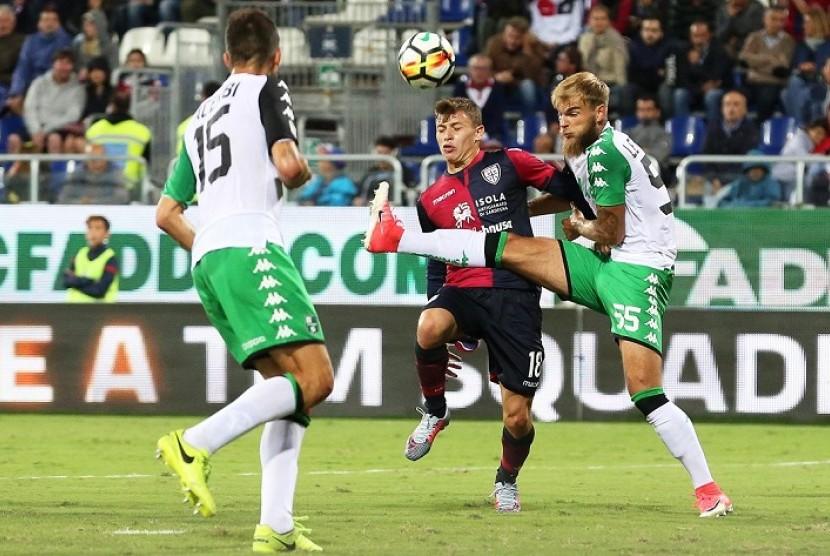 Juventus Kejar Tanda Tangan Gelandang Cagiliari