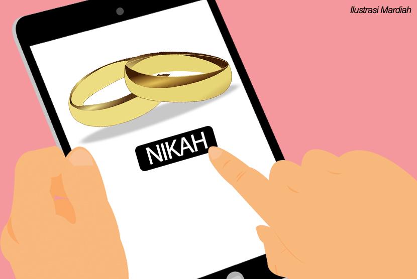 Nikah Sirri Online. (Illustration)