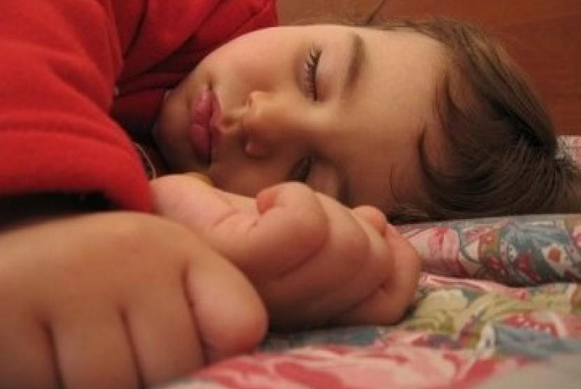 Nikmatnya tidur (ilustrasi)