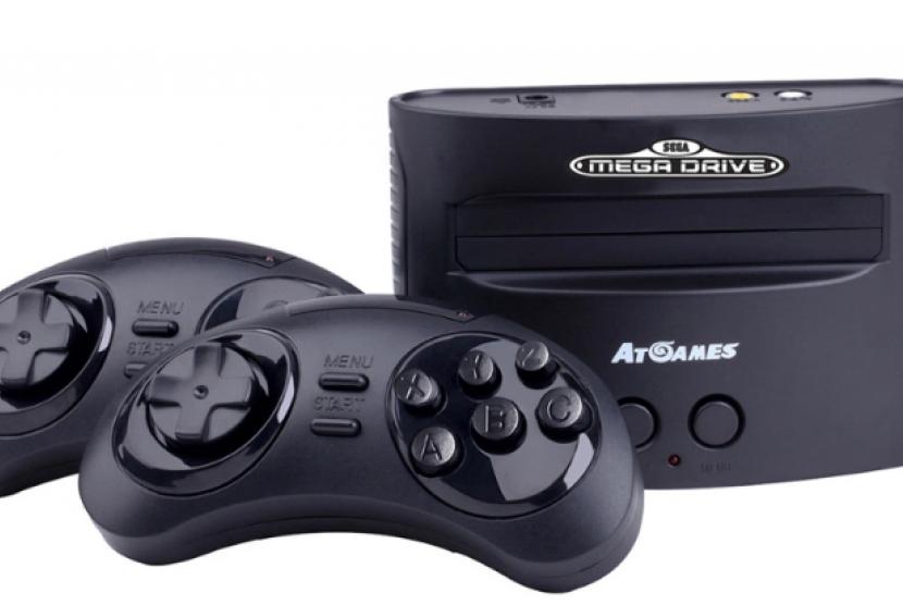 Sega Mega Drive Mini. Ilustrasi