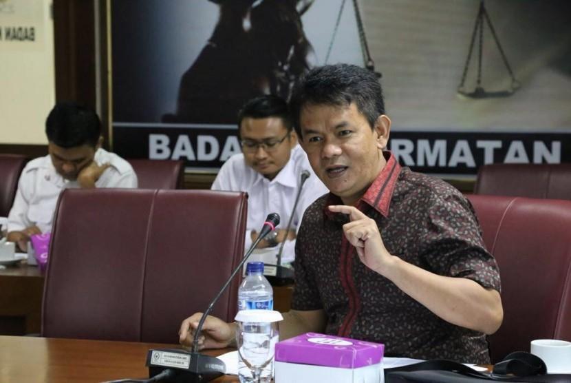 Nofi Candra, anggota DPD dari Sumatra Barat.