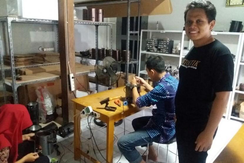 Pemuda Bantul Bertekad Bawa Kompor dan Batik Mendunia