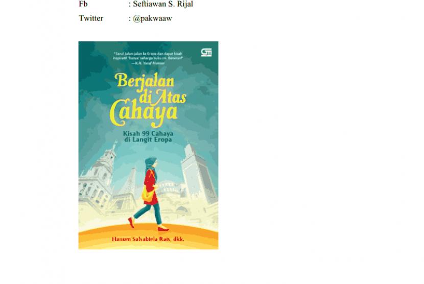 Novel 'Berjalan di Atas Cahaya'
