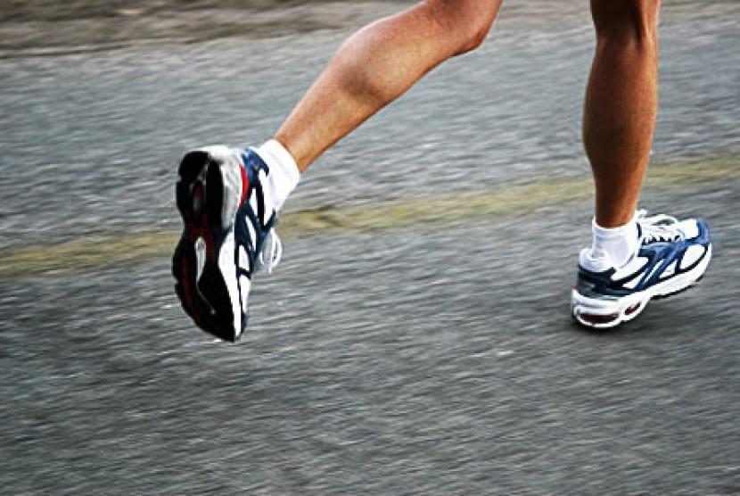Olahraga saat puasa (ilustrasi)