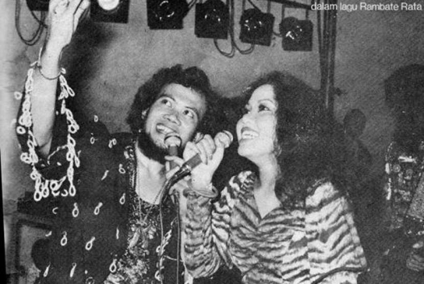 Oma Irama dan Rita Sugiarto  di tahun 1970-an.