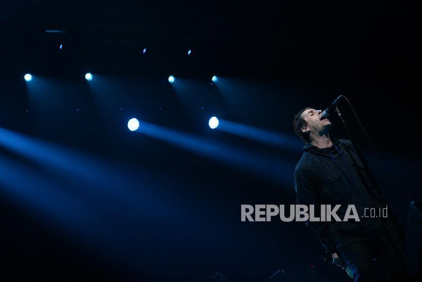 'Wonderwall' Tutup Konser Liam Gallagher di Jakarta