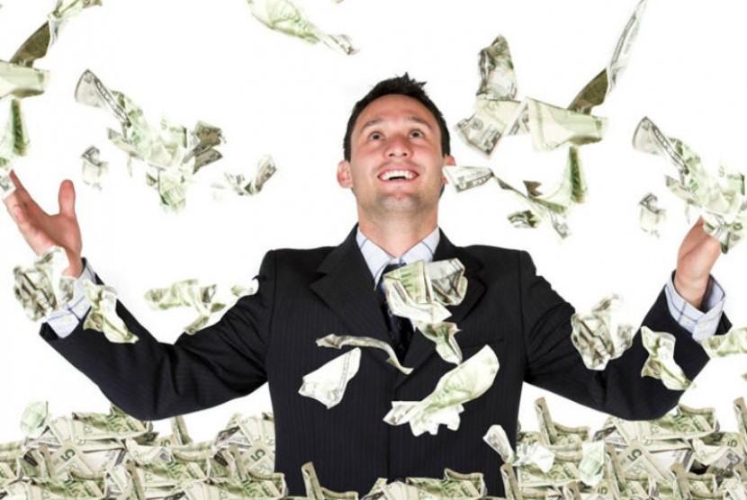 Orang kaya raya (ilustrasi)