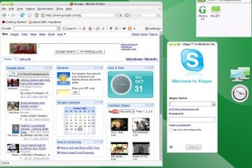 OS Google Chrome