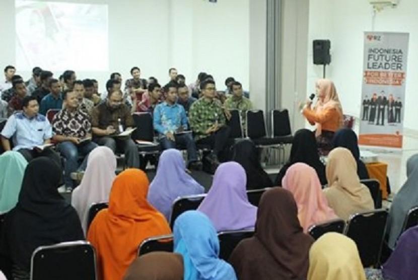 Foto indonesia mencari zakat