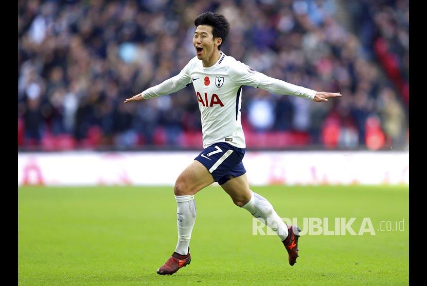 Babak Pertama, Tottenham Ungguli Everton 1-0