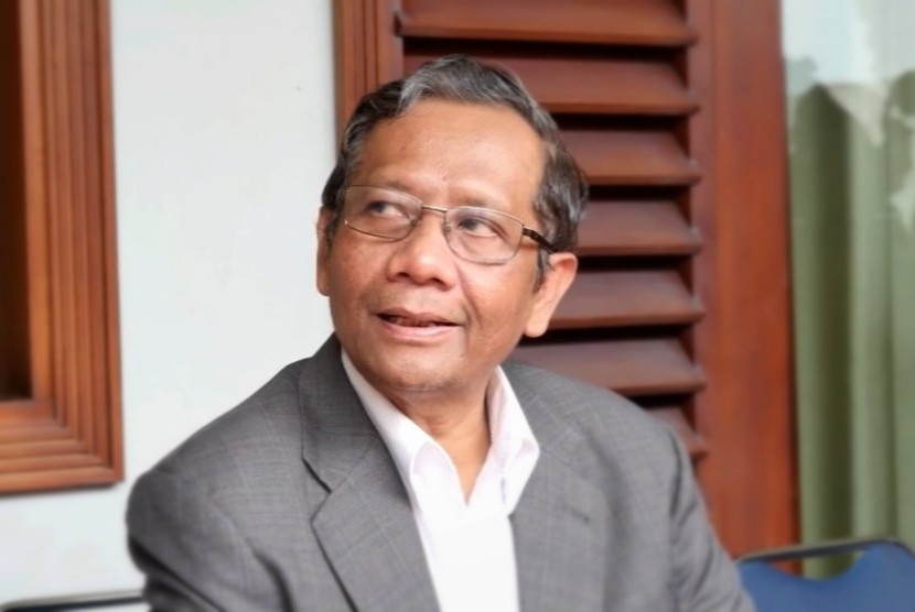 Former Chairman of the Constitutional Court Mahfud MD