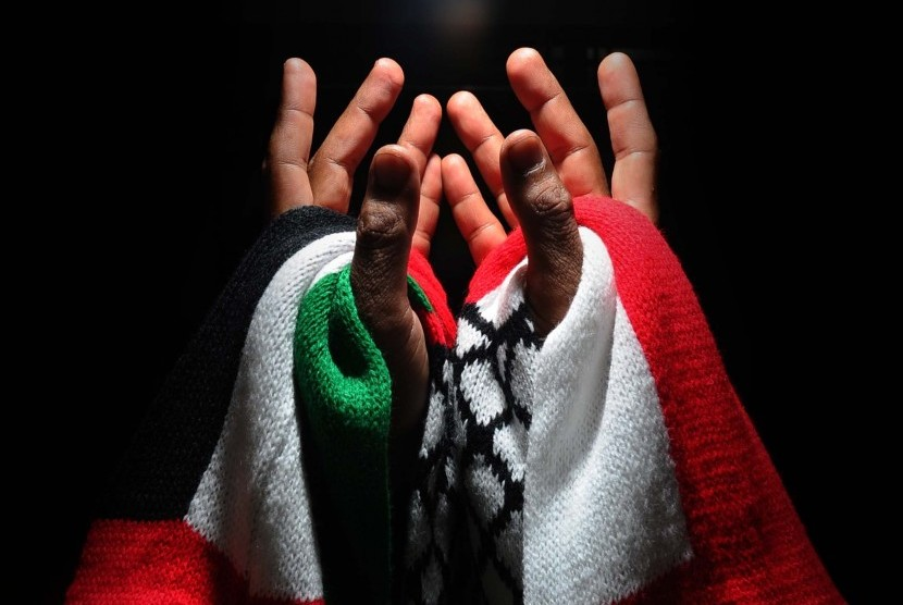 Indonesia has strong commitment to support the Palestinian people's struggle for independence. (Illustration)