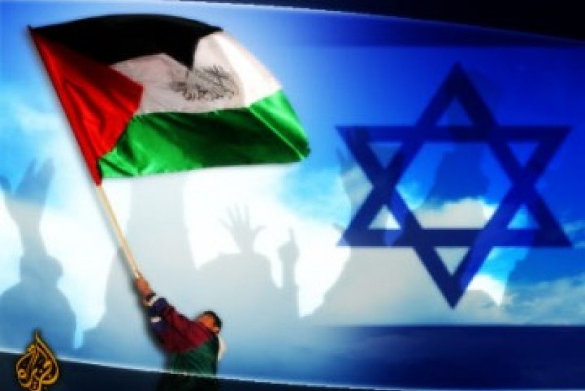 Kerry Bertemu Presiden Mesir Bahas Konflik Israel-Palestina