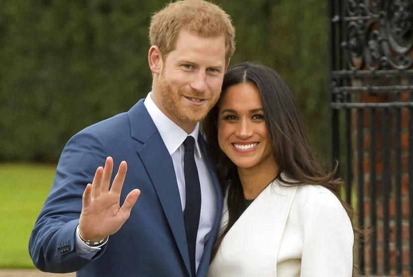 Pernikahan Harry-Meghan Dobrak Tradisi Kerajaan Inggris