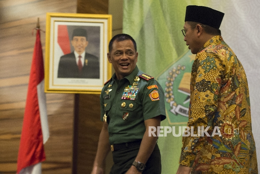 Panglima Jenderal Tentara Nasional Indonesia Gatot Nurmantyo.