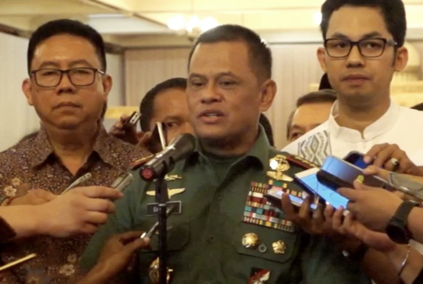 Military (TNI) chief General Gatot Nurmantyo