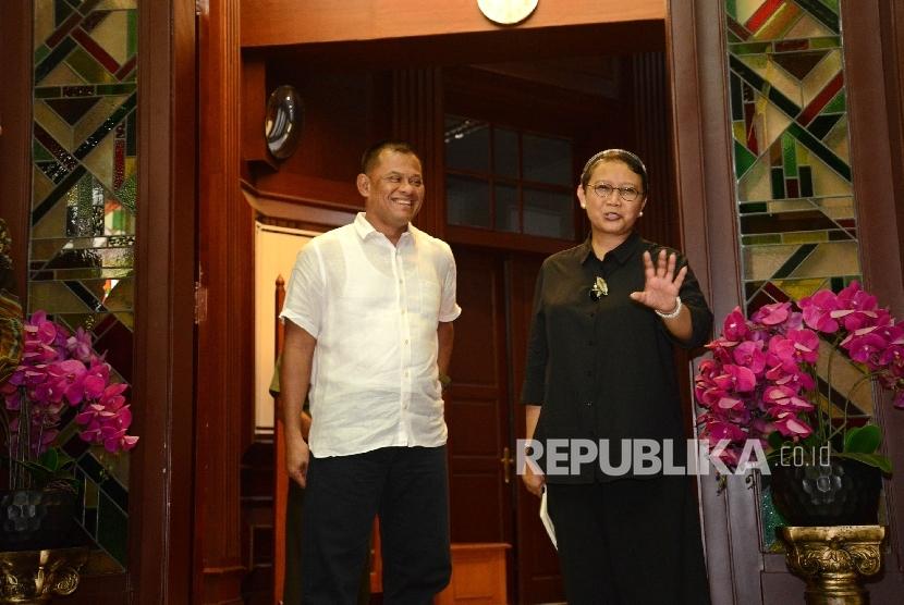 Menlu Retno: Kami Menunggu Klarifikasi AS Tolak Panglima TNI
